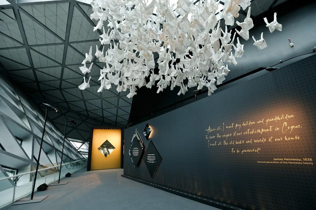 Entrada al Hennessy 250 Tour Exhibition en la Zaha Hadid Opera House
