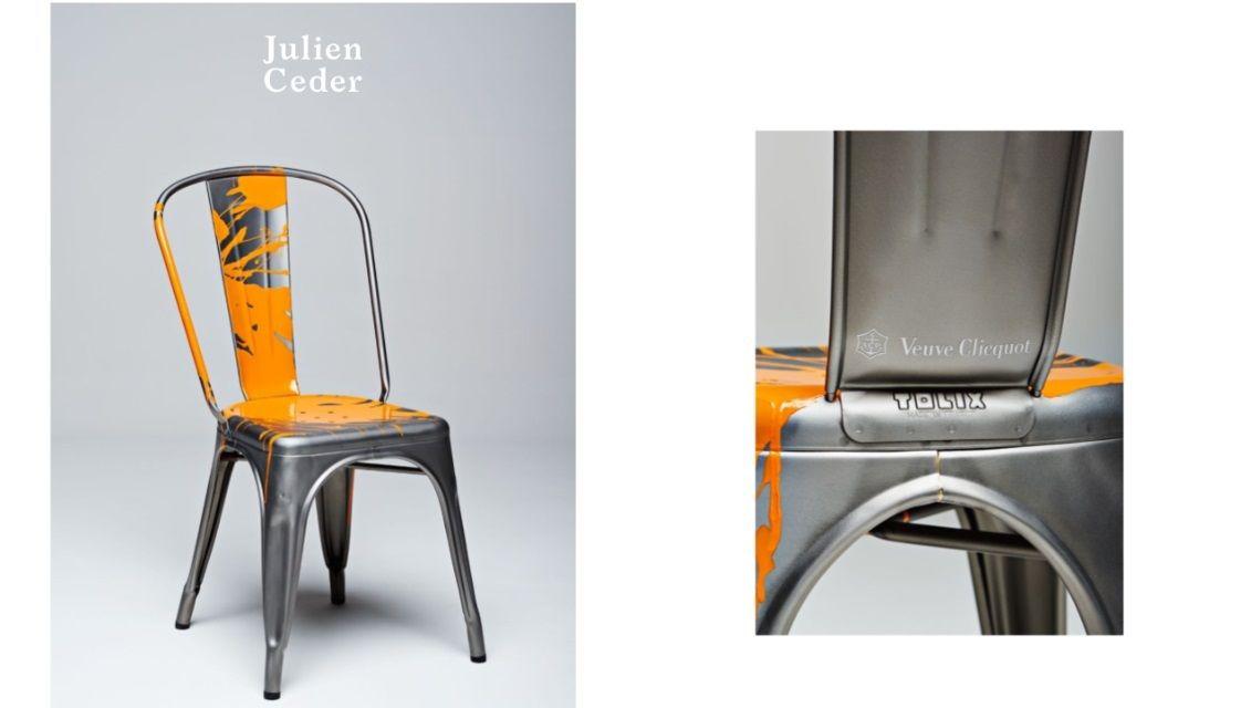 Milán Design Week Veuve Clicquot & Tolix design