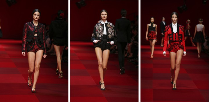 Desfile de Dolce & Gabbana summer 2015