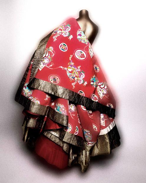 John Galliano dress for Maison Dior Spring 2003