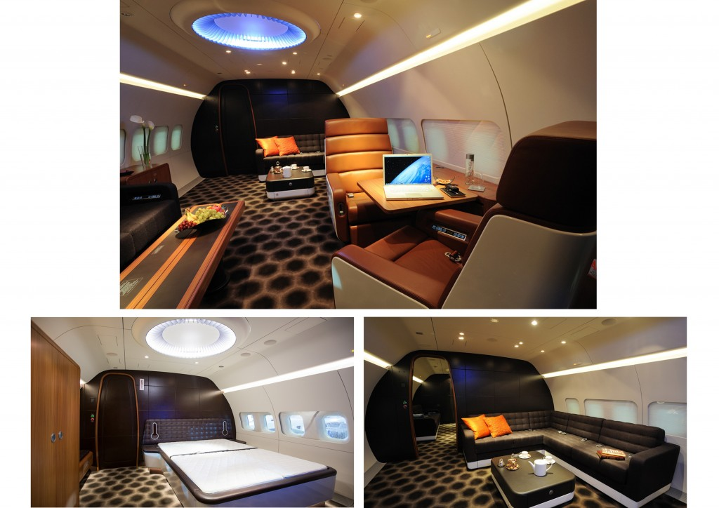 BBJ PrivateAircraft interior 2014