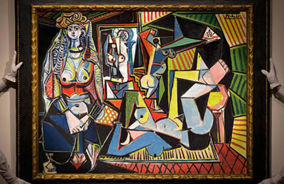 PICASSO's 'Les femmes d'Alger': THE MOST EXPENSIVE PAINTING AUCTIONED IN  ART HISTORY - Magazine Horse