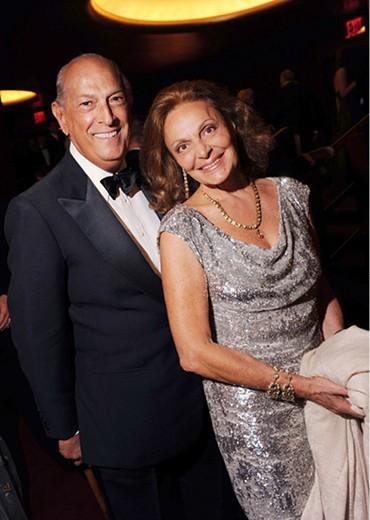Óscar de la Renta con Diane Von Fursnberg