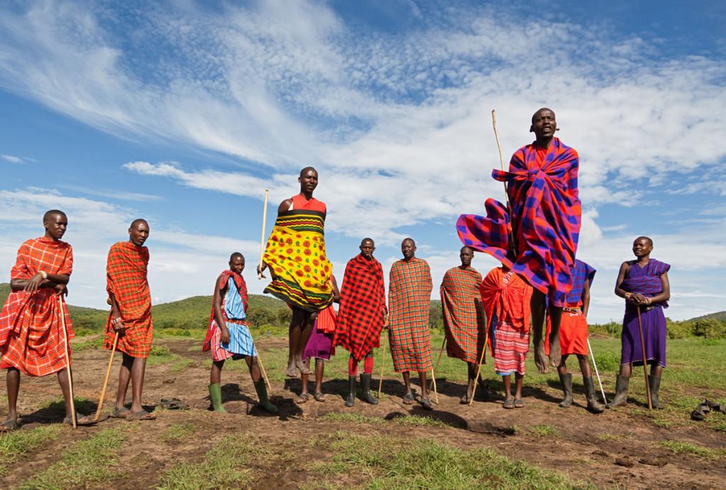 Masai danza
