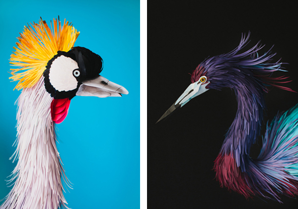 Crane y Heron