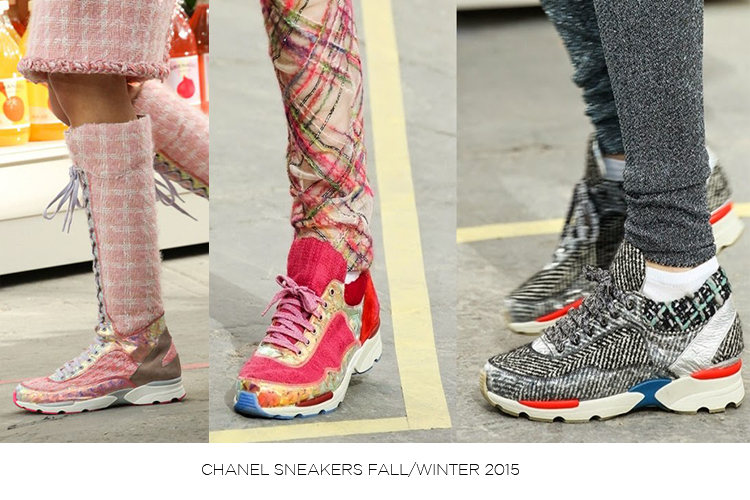 CHANEL SNEAKERS FALL WINTER 2015 copy