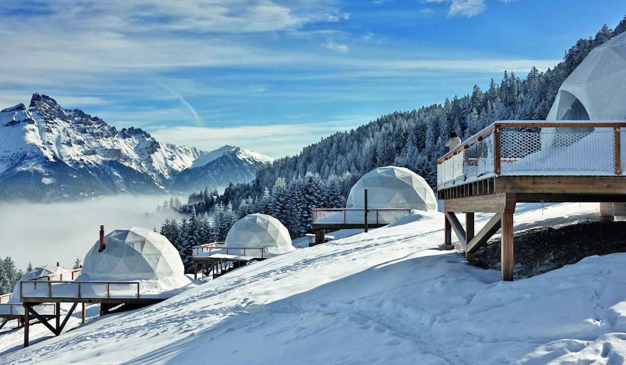 Sustainable. Whitepod, switzerland