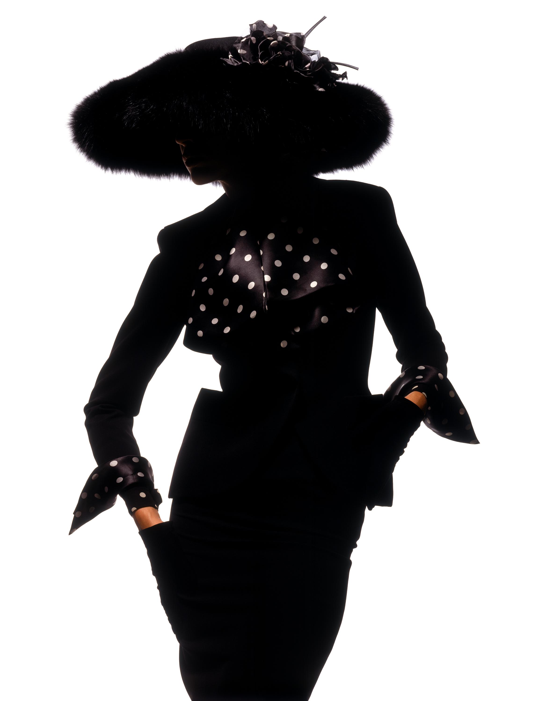 Albert Watson, 1989. Christian Dior Haute Couture by Gianfranco Ferre¦ü, autumn-winter 1989
