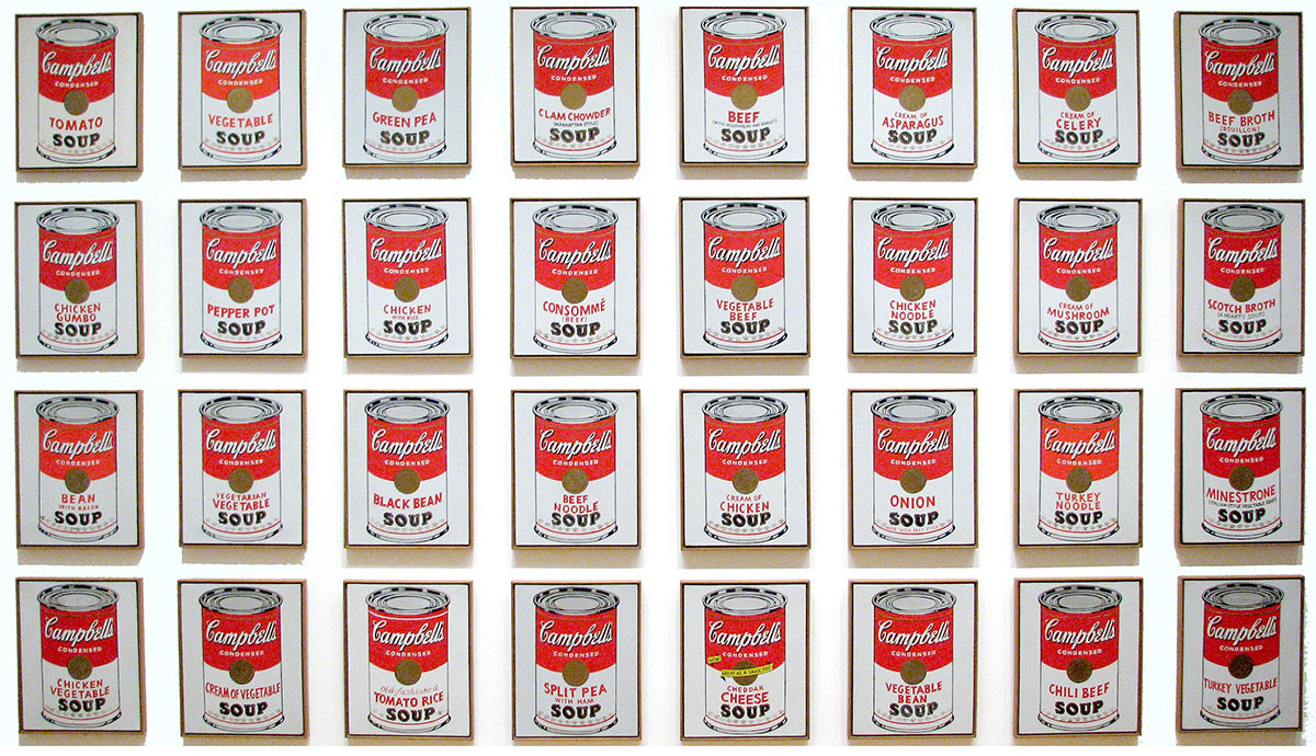 Andy-Warhol-Campbell-Soup-Cans-1962