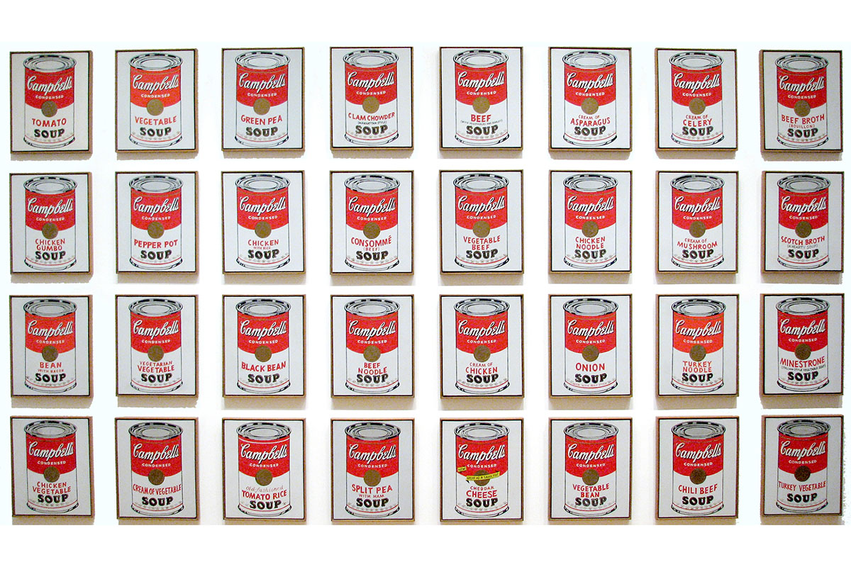 andy warhol and his soup cans Andy warhol soup cans – in 1962, a commercial illustrator and an aspiring artist named andy warhol held his first solo painting exhibition at the ferus gallery in los angeles today, that exhibition is remembered for two reasons:.