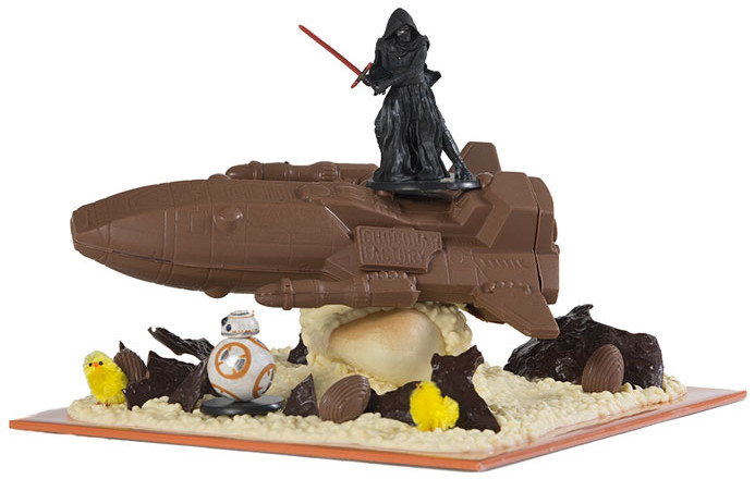 Star wars chocolat factory