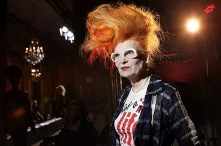 VIVIENNE WESTWOOD, 75 años, reina del punk, moda, Magazine Horse