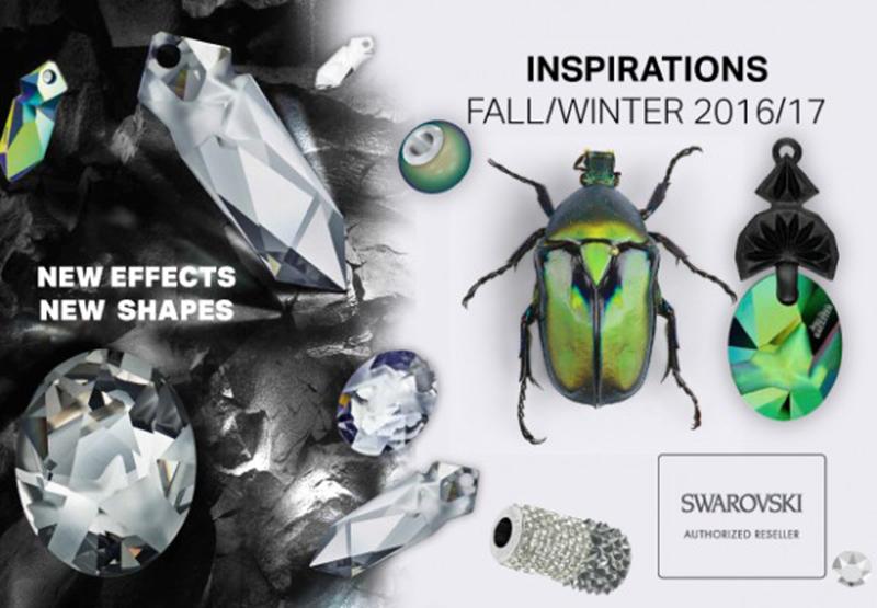 JEAN PAUL GAULTIER & swarovski colección kaputt fall/winter 2016-2017 luxury jewelry
