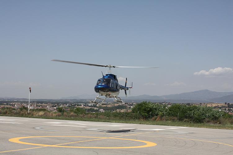 mercure-hotel-barcelona-vallés-helicoptero