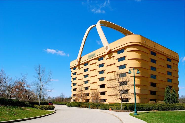 arquitectura peculiar-edificiocesta-longaberger company-arte y diseño-Magazine Horse