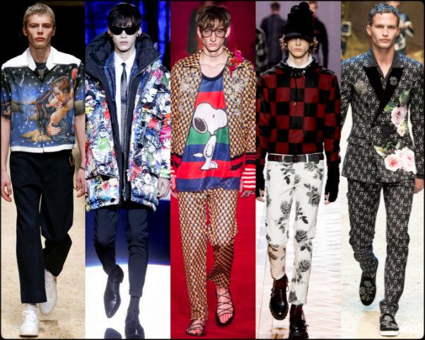 moda hombre, moda hombre otoño 2016, men fall 2016 trends, kitsch men trend, trend, tendencias hombre, men trends, tendencias, trends