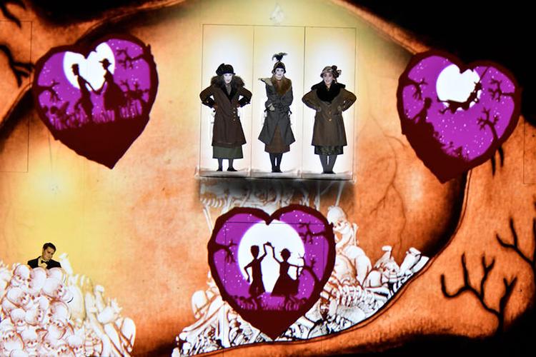 arte digital, impacto visual, flauta mágica, komische oper berlin