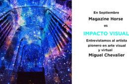 miguel chevalier, entrevista miguel chevalier, arte virtual, impacto visual, magazine horse