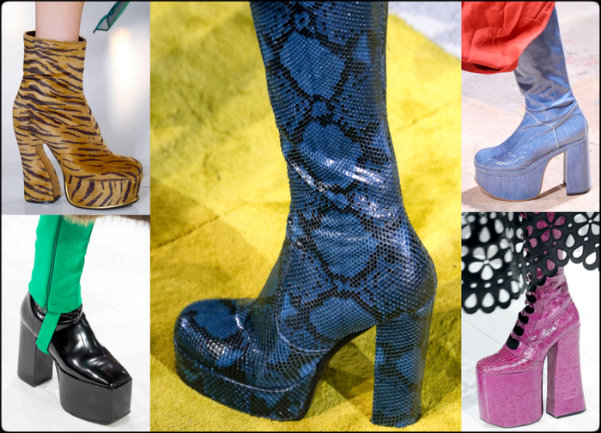 zapatos de tendencia mujer, high platform, plataformas, shoe trends, tendencia zapatos, zapatos otoño 2016, shoes fall 2016, shoes shopping, shopping zapatos, zapatos, shoes