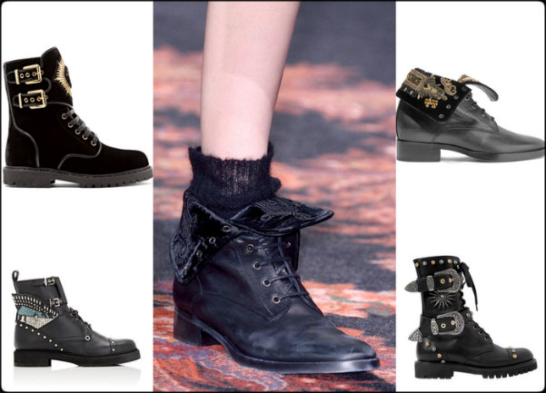 zapatos tendencia mujer, combat boots, botas de combate, shoe trends, tendencia zapatos, zapatos otoño 2016, shoes fall 2016, shoes shopping, shopping zapatos, zapatos, shoes
