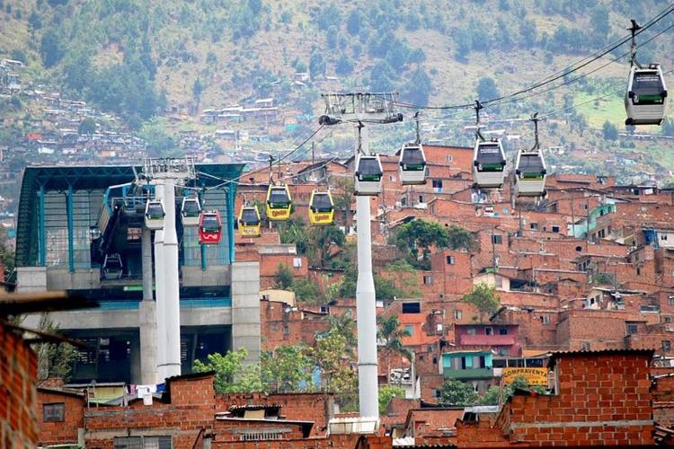 Medellín- teleférico