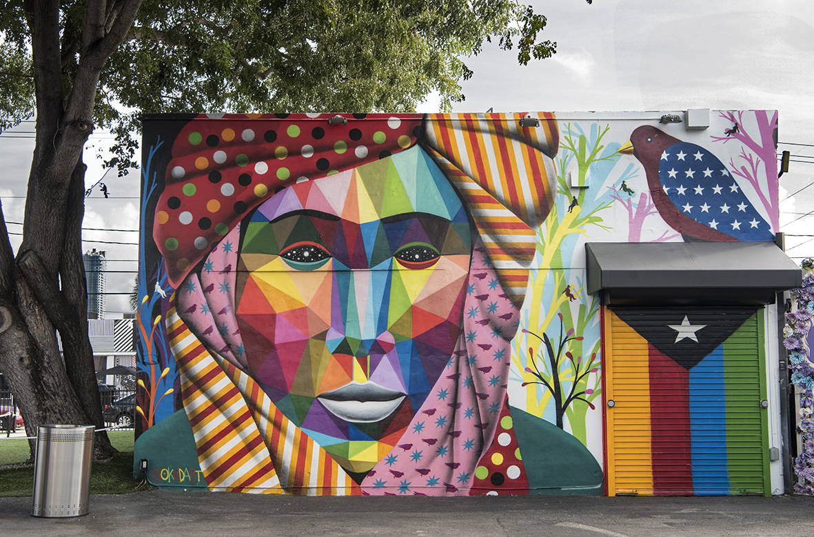 Art Basel Miami Beach - magazine horse - wynwood murals