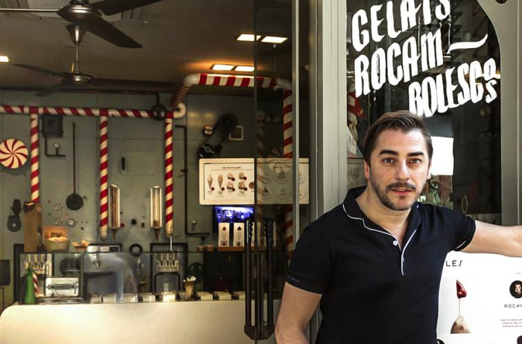 jordi roca, entrevista jordi roca, rocambolesc, heladería, cocina, gastronomía
