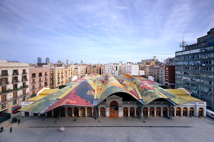 benedetta tagliabue, benedetta tagliabue entrevista, arquitectura, benedetta tagliabue arquitecta, santa caterina market barcelona