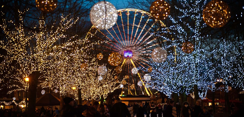 El mercado navideño más potente de Bélgica se celebra entre gaufres y otras muchas calorías.