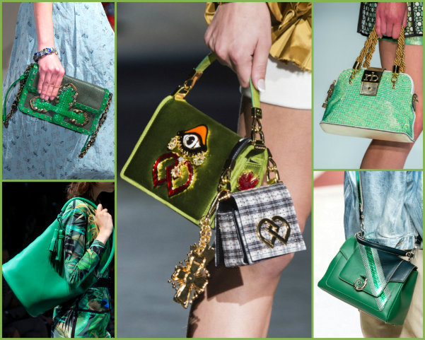 greenery, greenery bags, greenery accessories, greenery bolsos, greenery looks, greenery pantone, pantone