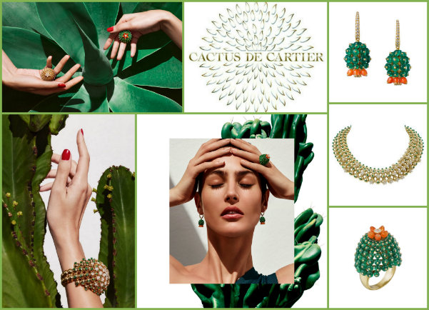 greenery, cartier, cartier cactus, greenery cartier, greenery jewels, greenery accessories, greenery joyass, greenery looks, greenery pantone, pantone