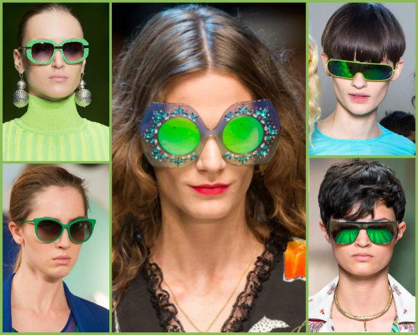 greenery, sunglasses greenery, greenery accessories, greenery gafas de sol, greenery looks, greenery pantone, pantone