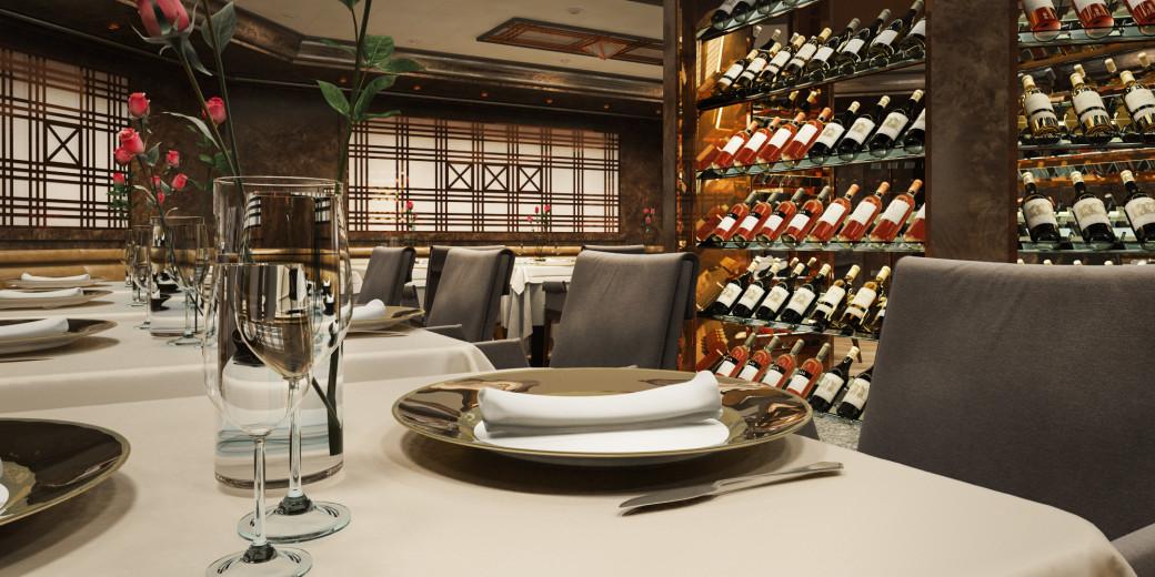 Restaurante La Dame Silversea Muse