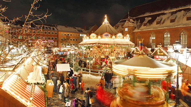 Uno de los mercadillos navideños más variopintos y completos de Europa Central.