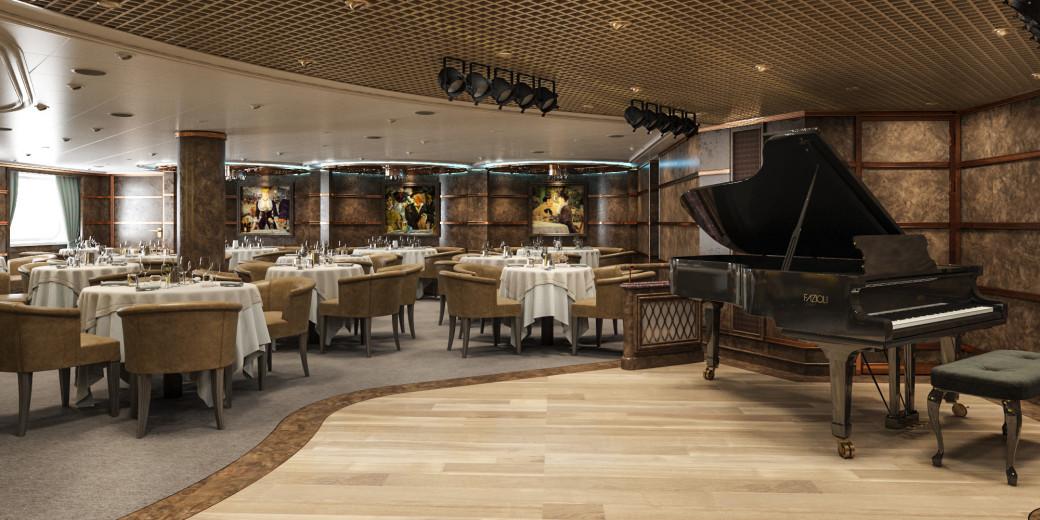 Restaurante Silver Note es como si te transportases en un club de Jazz de Manhattan