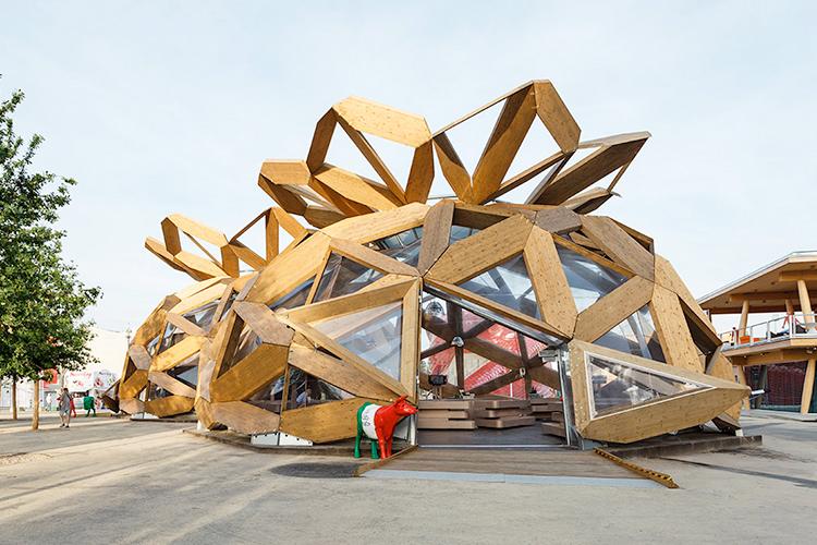 benedetta tagliabue, benedetta tagliabue entrevista, arquitectura, benedetta tagliabue arquitecta, Expo Milán 2015, Copagri Pavilion