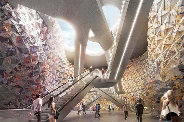 benedetta tagliabue, benedetta tagliabue entrevista, arquitectura, estación metro paris