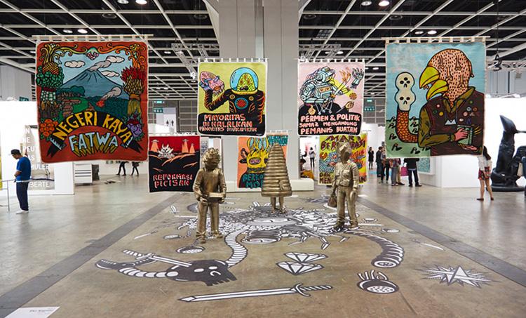 Expositor en la pasada edición de Art Basel HK