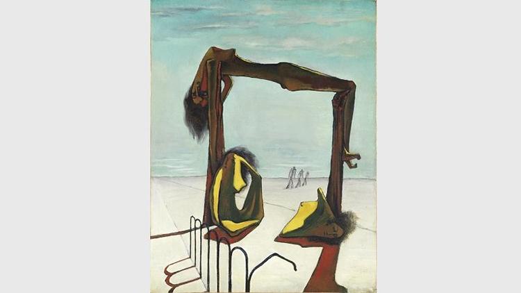 Obra de Ramses Younane realizada en 1939