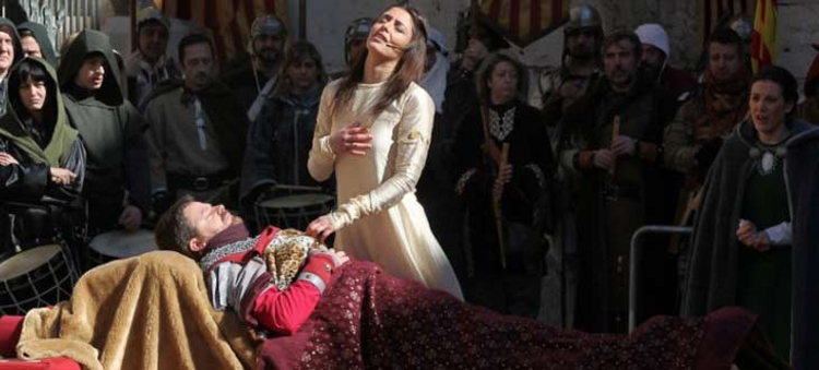 Dramatized recreation of the Lovers of Teruel