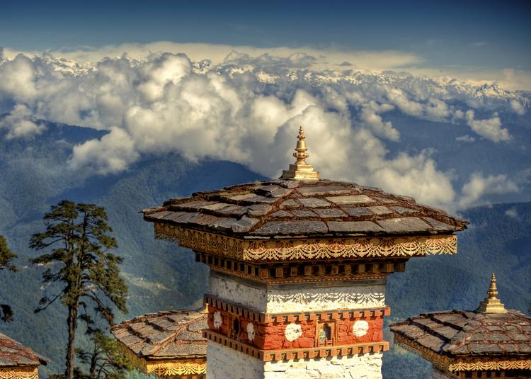 The Bhutan landscapes