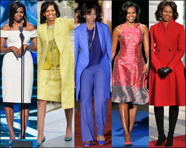estilo primeras damas, first ladies style, michelle obama style, michelle obama estilo, michelle obama looks