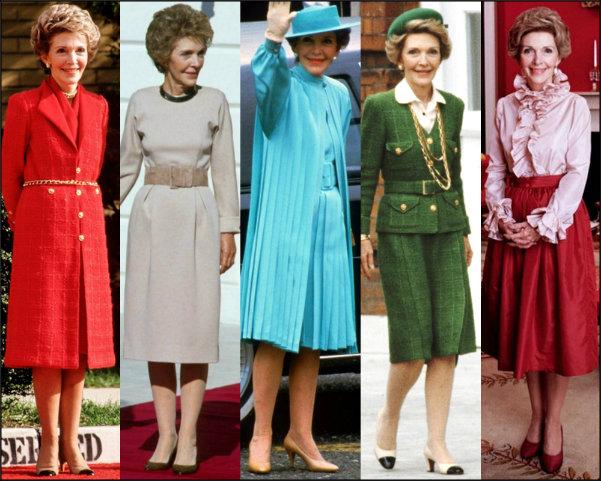 estilo primeras damas, first ladies style, nancy reagan style, nancy reagan estilo, nancy reagan looks