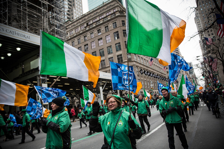 El desfile de San Patricio paraliza lugares como Nueva York
