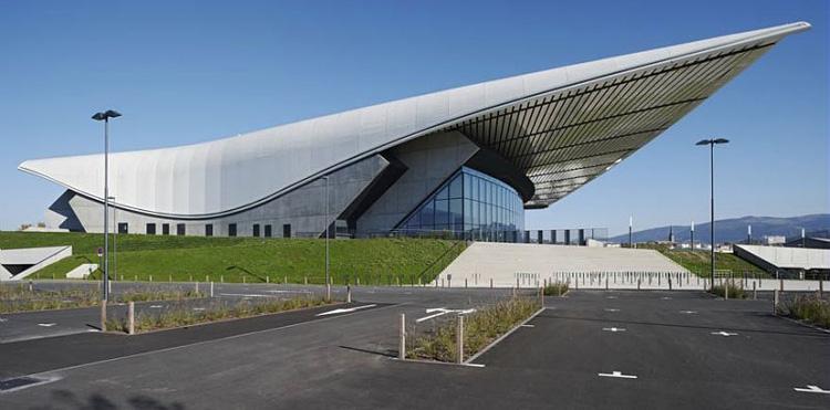 Zenith Saint Etienne Metropol, un gran salón de espectáculos diseñado por Norman Foster