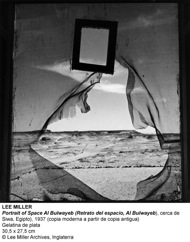 Lee Miller - Portrait of Space ('Retrato del Espacio'), 1937.