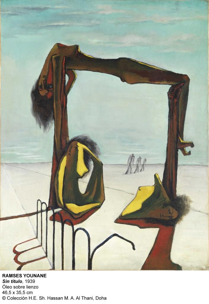 Ramses Younane, Sin Título, 1939.