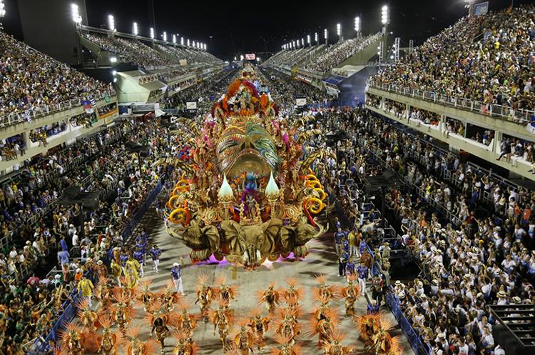 Ambiente del Carnaval de Río