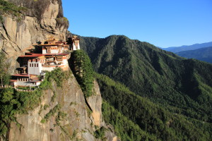 Taktshang Monastery or Tiger's Nest