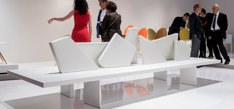 The latest trends in furniture presented at the Salone Inernazionale del Mobile in Milan
